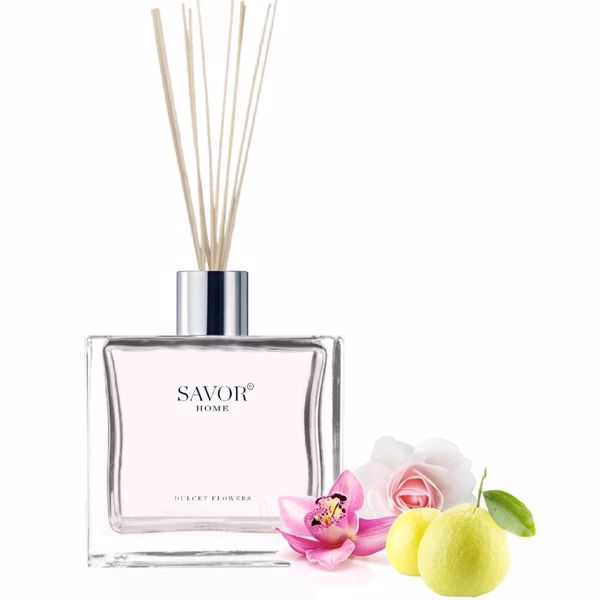 Geurstokjes Savor-home Dulcet Flowers 100ml